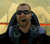 Aerobatic faces :-)