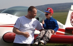 Aerobatic with Sebastian